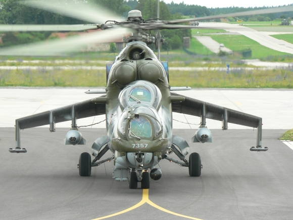 Gunpod PL-20 certification for helicopters Mi-24